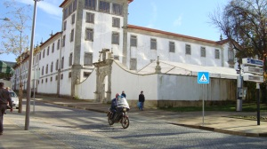 Convento de Santa Mafalda onde está instalado o antigo Colégio Salesiano e o Museu de Arte Sacra